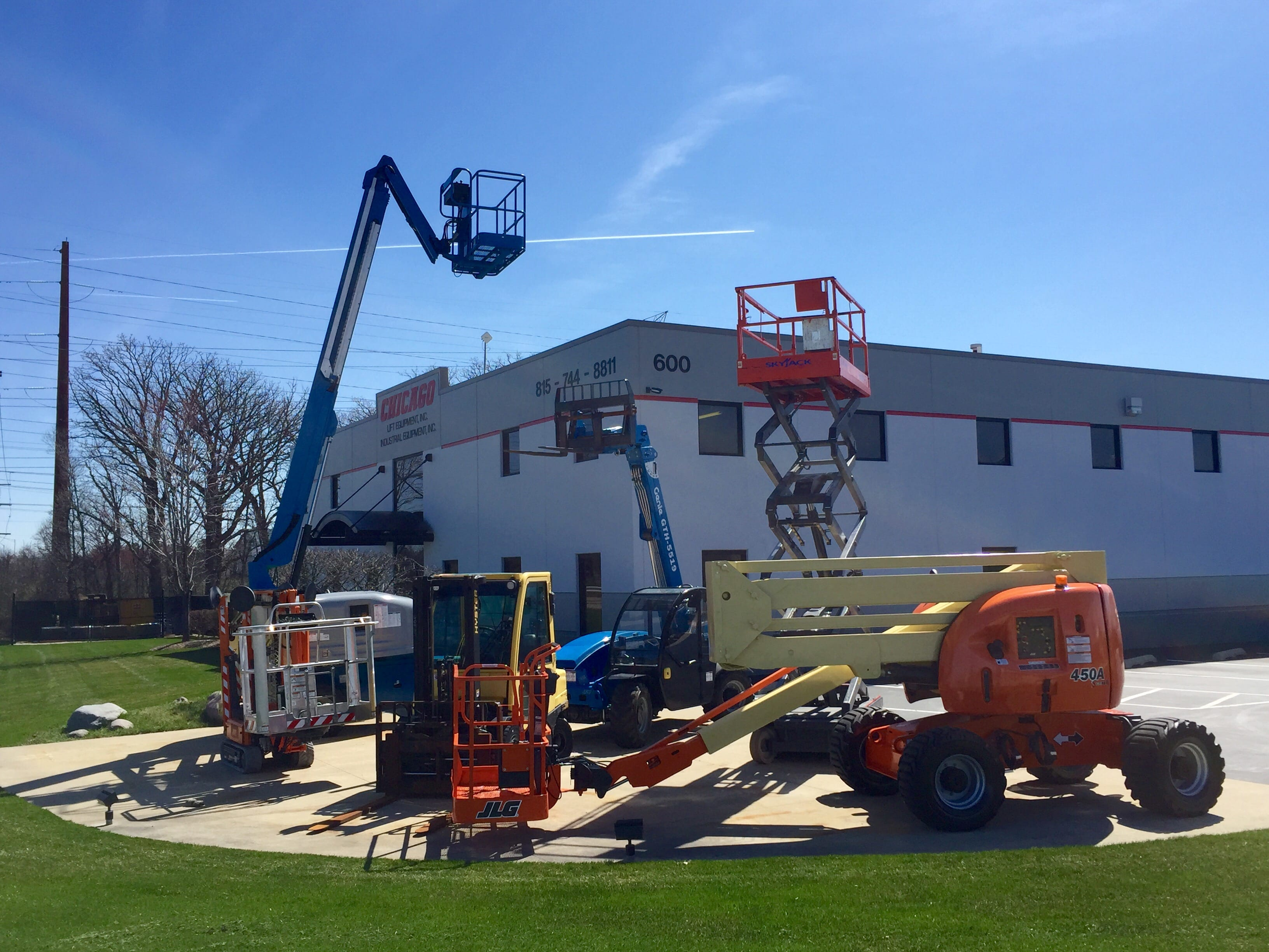 New & Used Aerial Lifts & Work Platforms For sale | Chicago