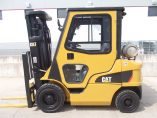 Side view of 2P5000 Mitsubishi CAT Used Forklift