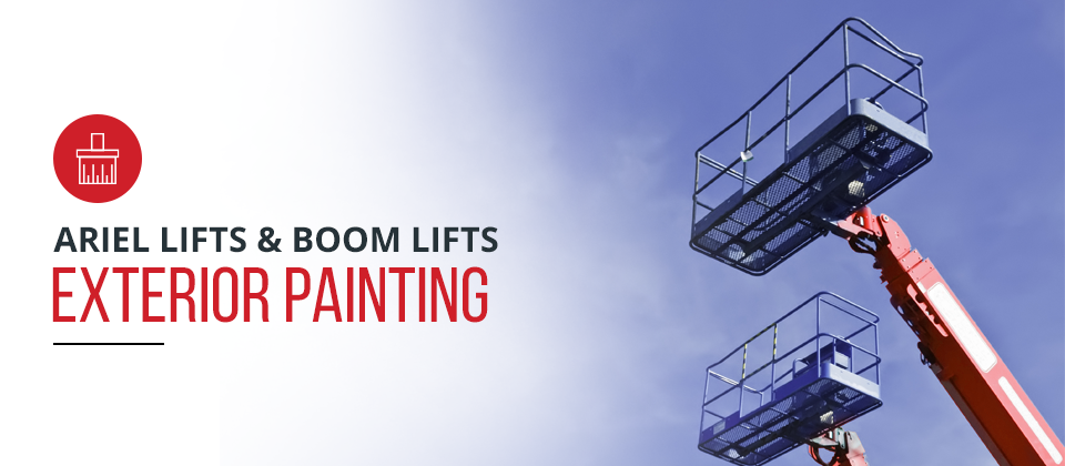 Boom Lifts for Painting