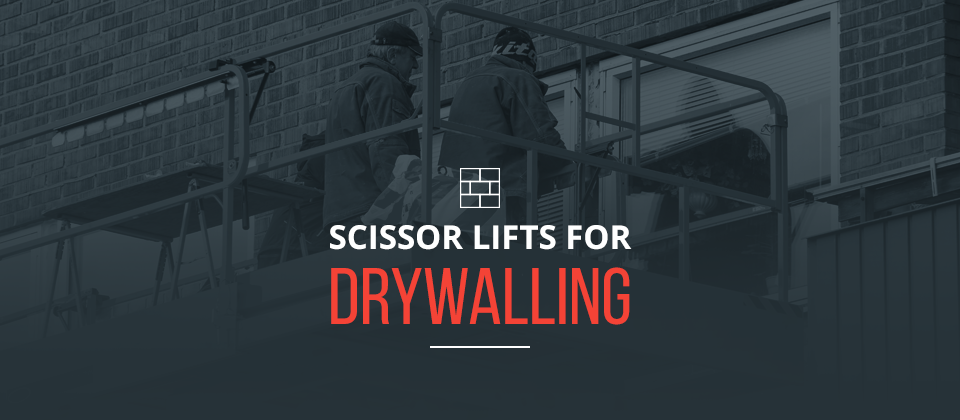 Used Scissor Lifts for Drywalling